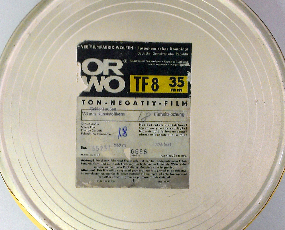 Testing ORWO TF-8