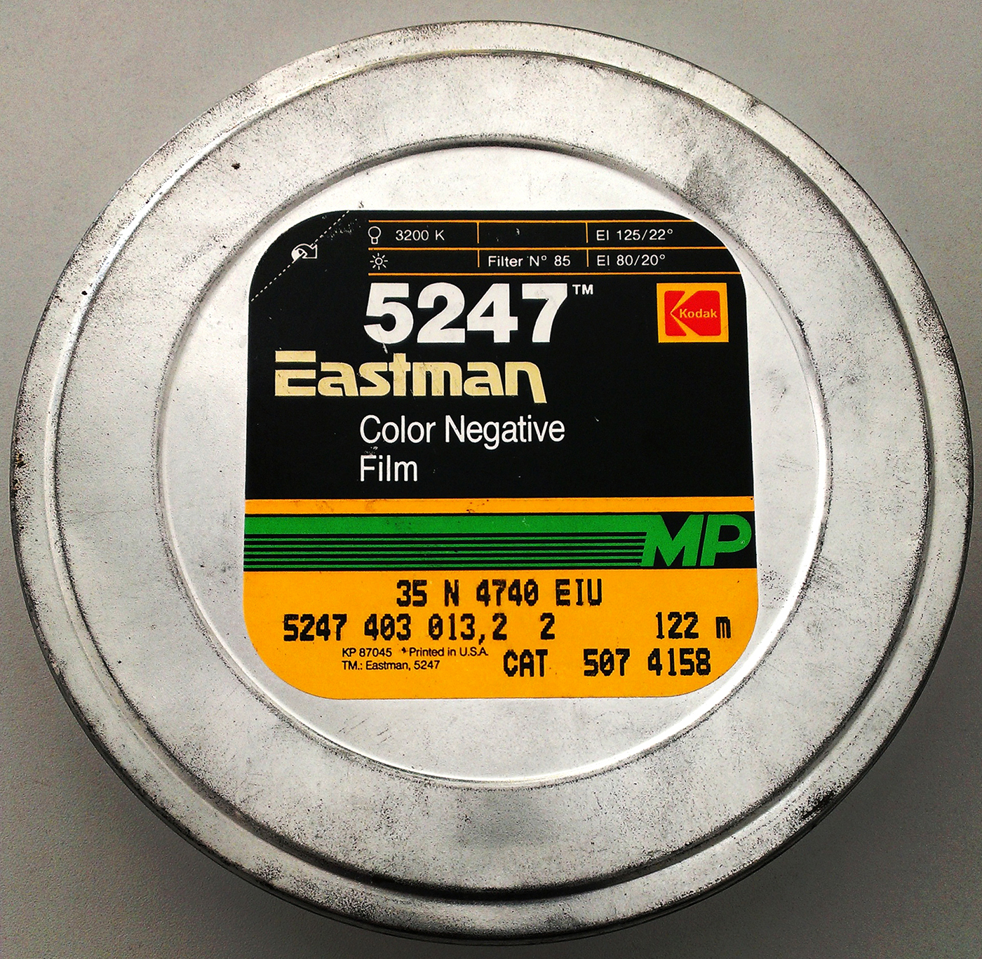 Kodak motion picture film 5247