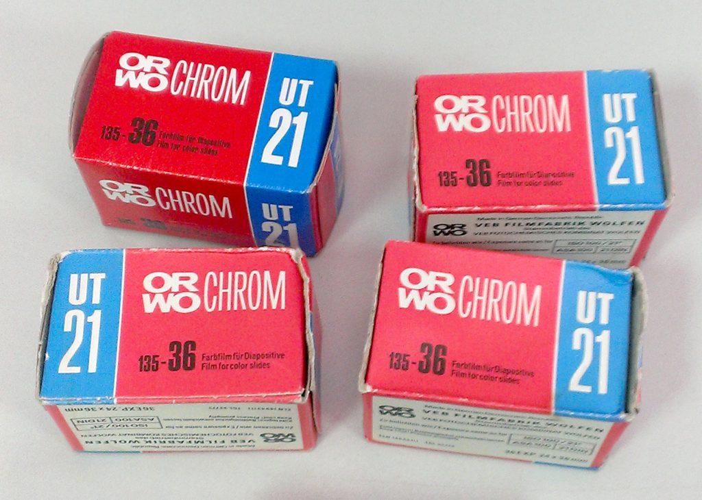 ORWO Chrom UT-21