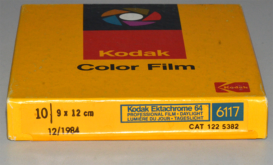 Kodak Ektachrome 64 (6117/6118)